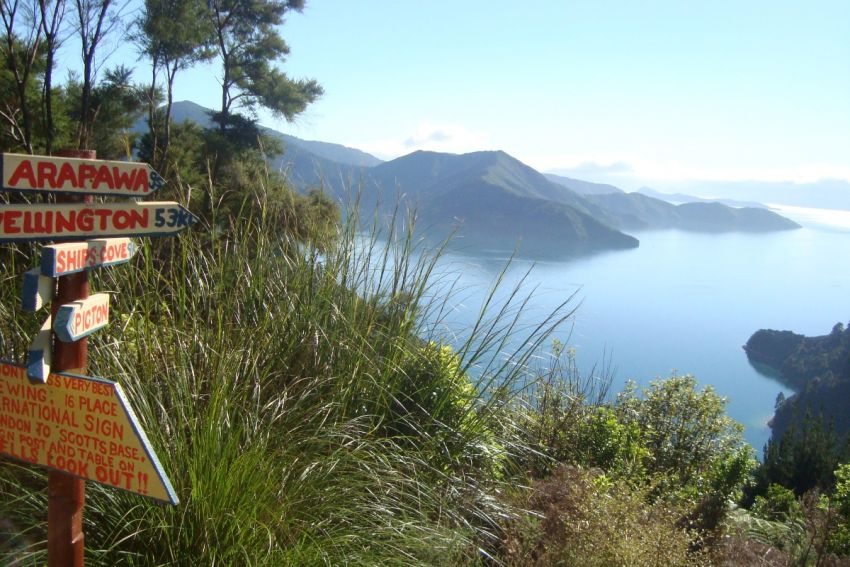 Views from the Queen Charlotte Track
